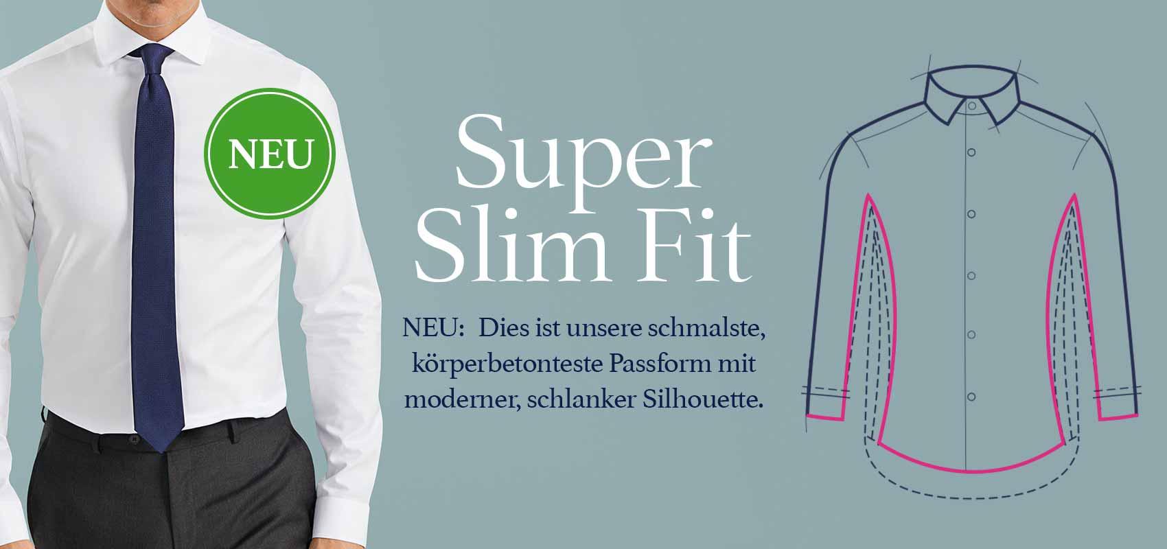 Charles Tyrwhitt Super Slim Fit Hemden