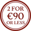Scarves Multibuy Roundel - 2 for €90 or less