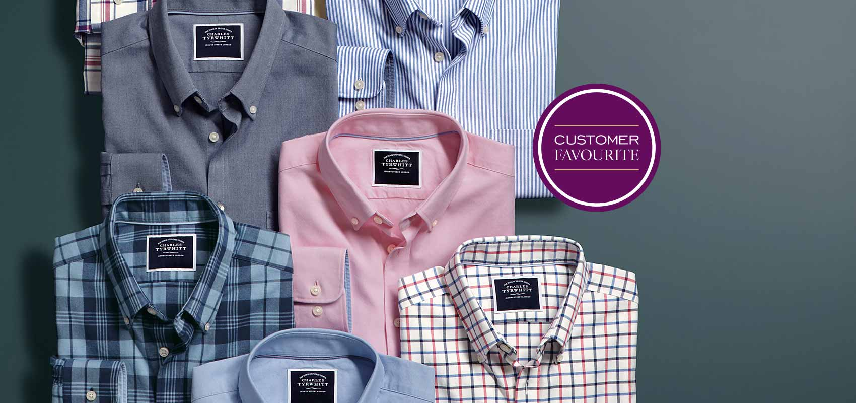 Charles Tyrwhitt non-iron button-down shirts