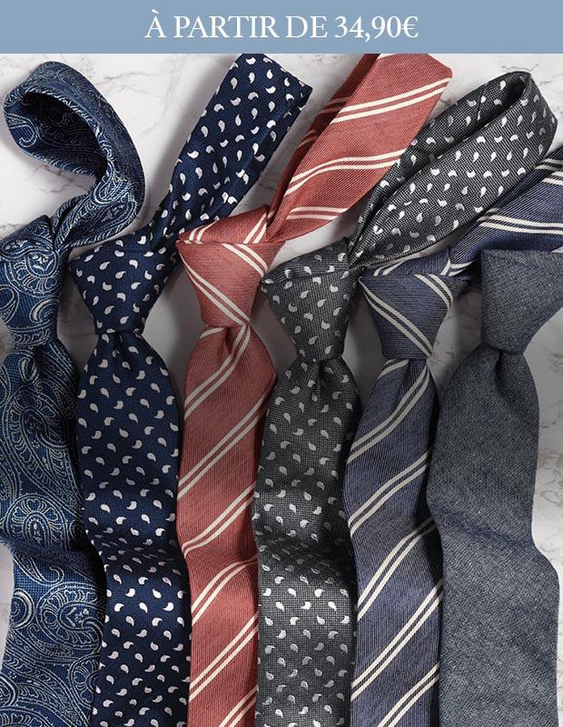 Cravates classiques