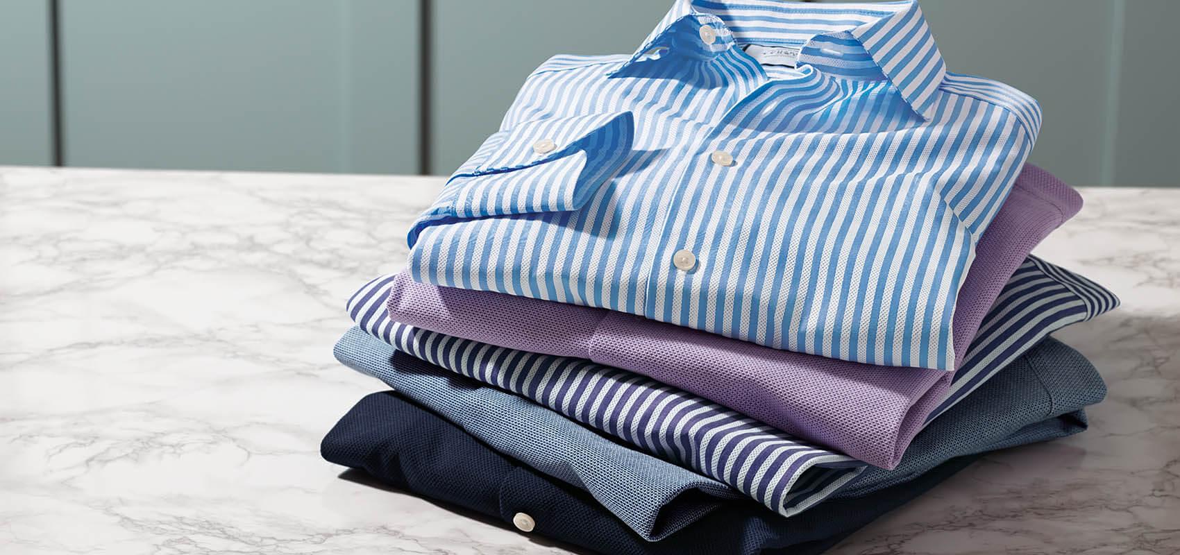 Charles Tyrwhitt Leno Weave Shirts