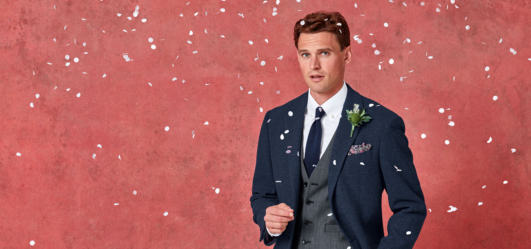 Charles Tyrwhitt Wedding wardrobe