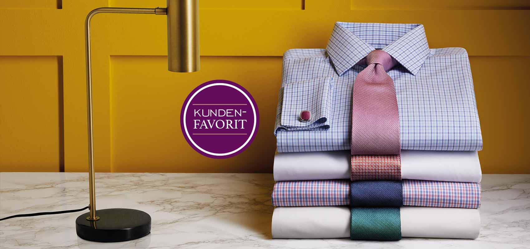 Charles Tyrwhitt  Bügelfreie Popeline-Hemden
