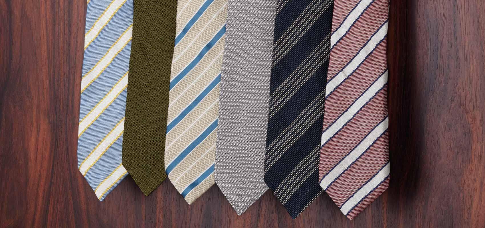 Charles Tyrwhitt Cravates anglaises de luxe