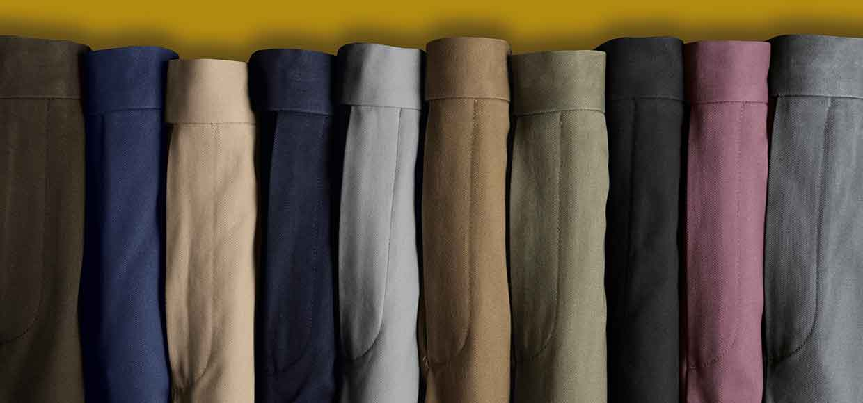 Shop the casual trousers multibuy