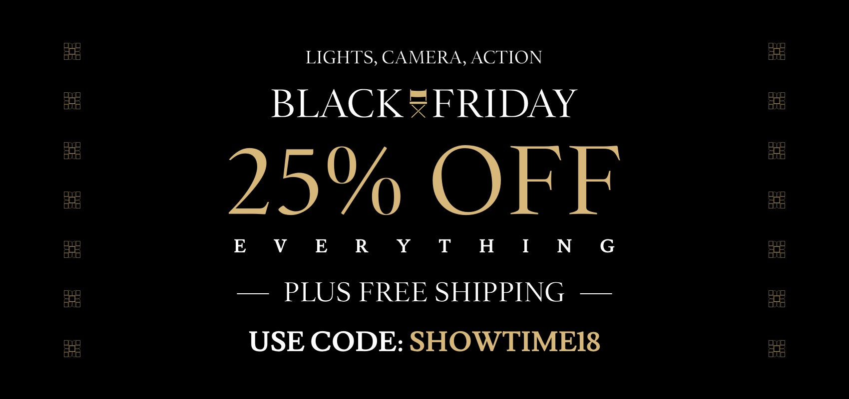 Charles Tyrwhitt Black Friday 25% and free shipping off with code SHOWTIME18