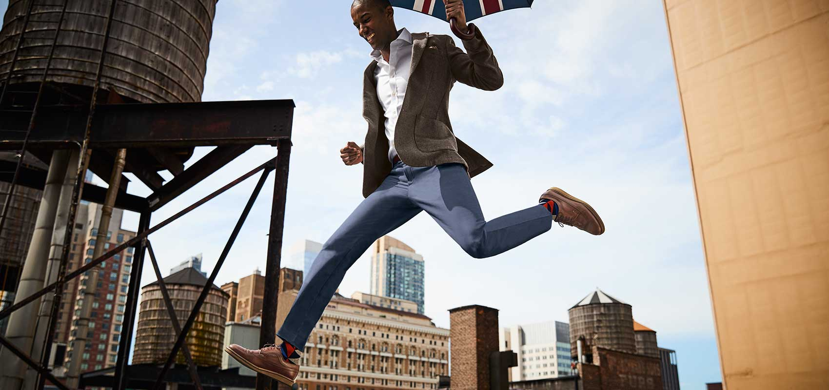 Charles Tyrwhitt stretch collection