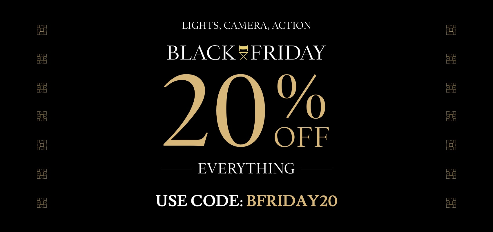 Charles Tyrwhitt Black Friday 20% off with code BFRIDAY20