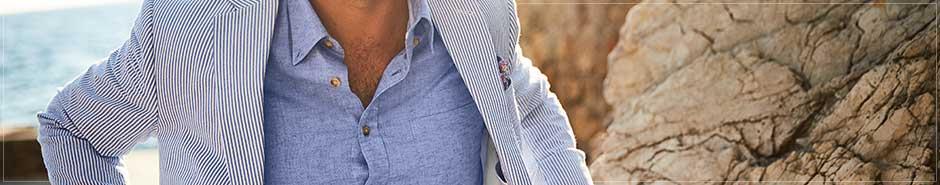Charles Tyrwhitt men's linen collection