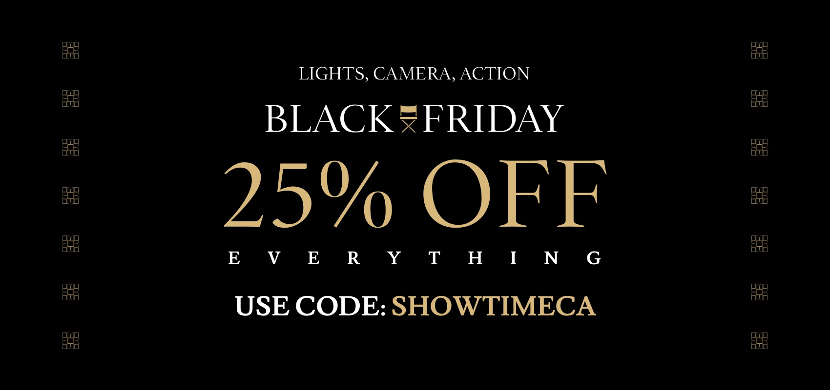 Charles Tyrwhitt Black Friday 25% off everything with code SHOWTIMECA