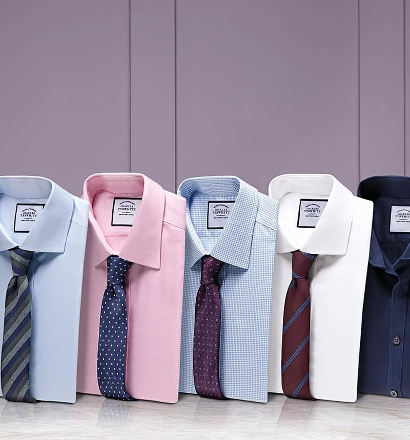 Huit chemises