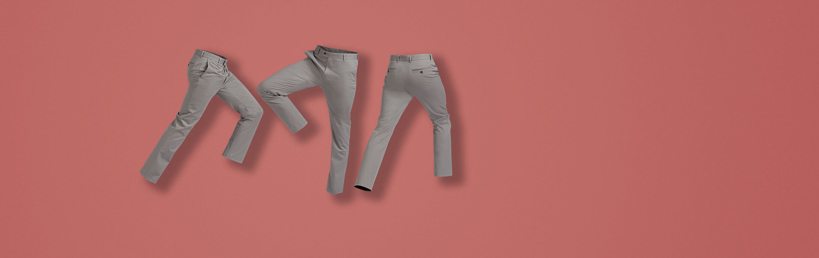 Image of stretch chinos
