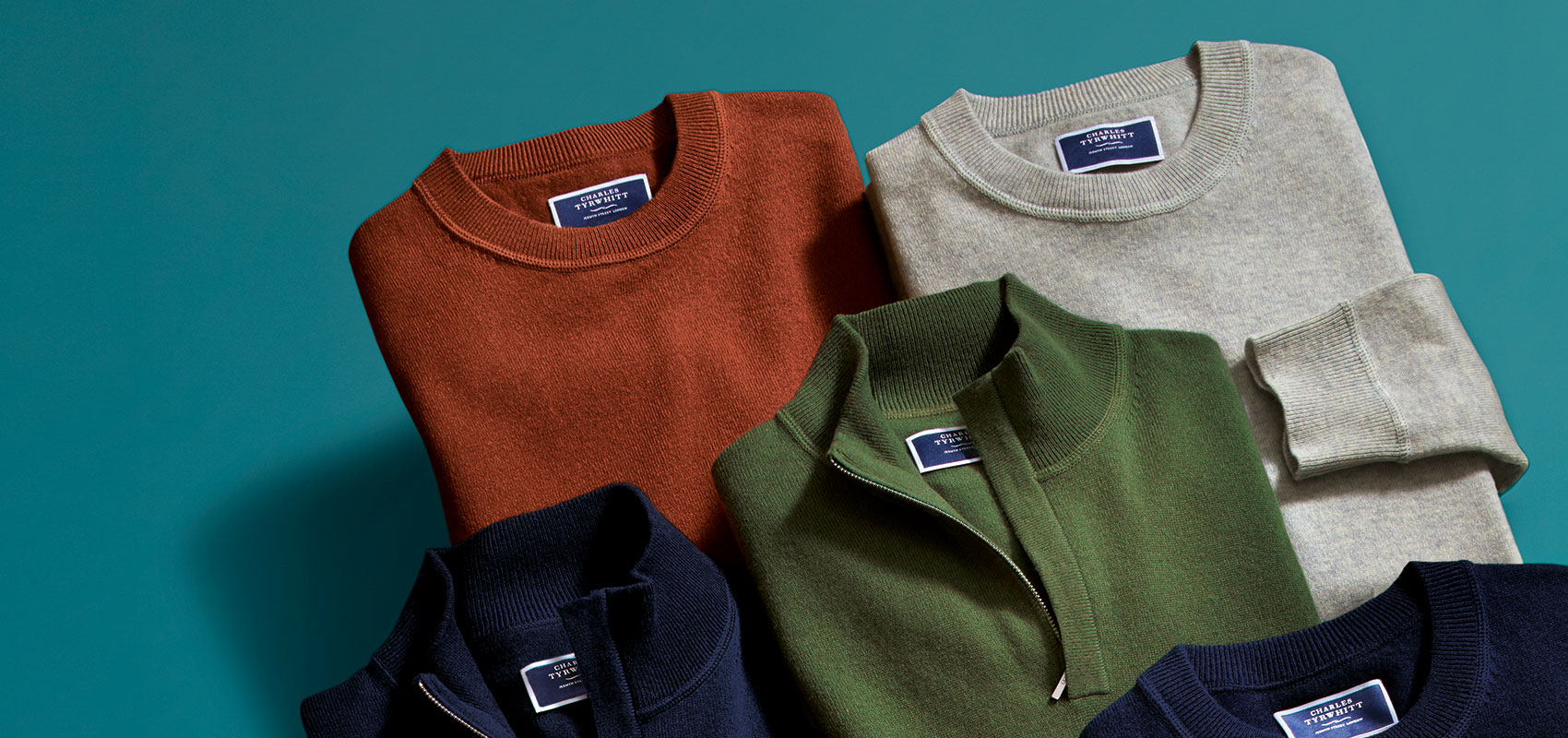Charles Tyrwhitt Pure Cashmere Knitwear