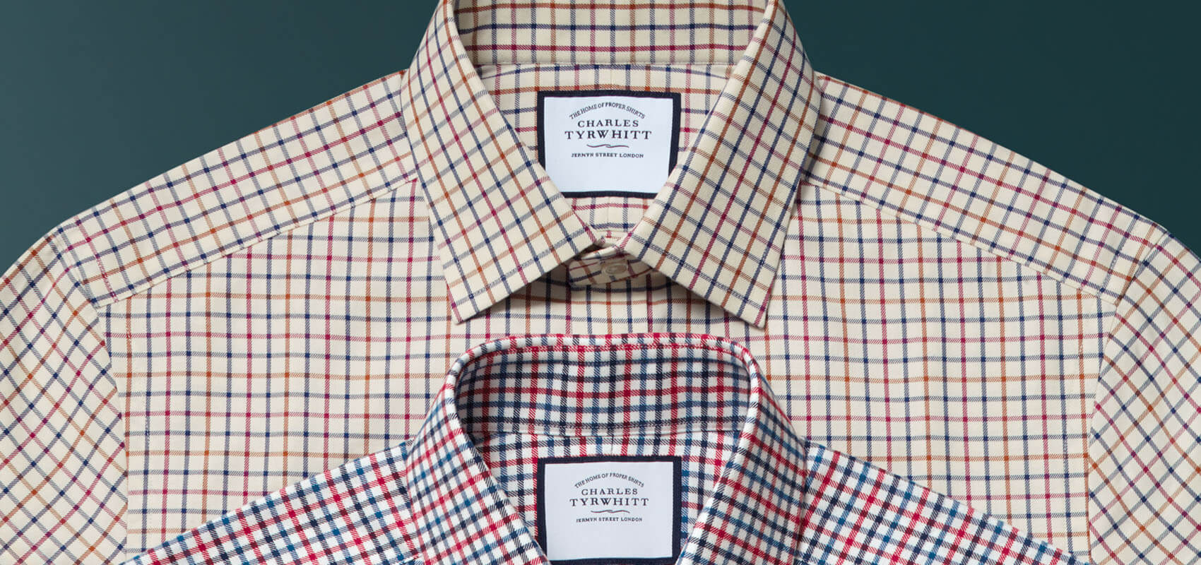 Charles Tyrwhitt Brushed Cotton Shirts