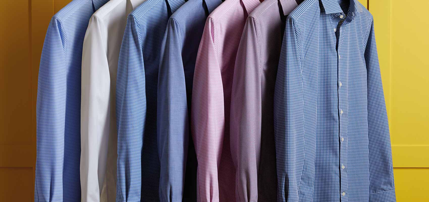 Non-iron business casual shirts