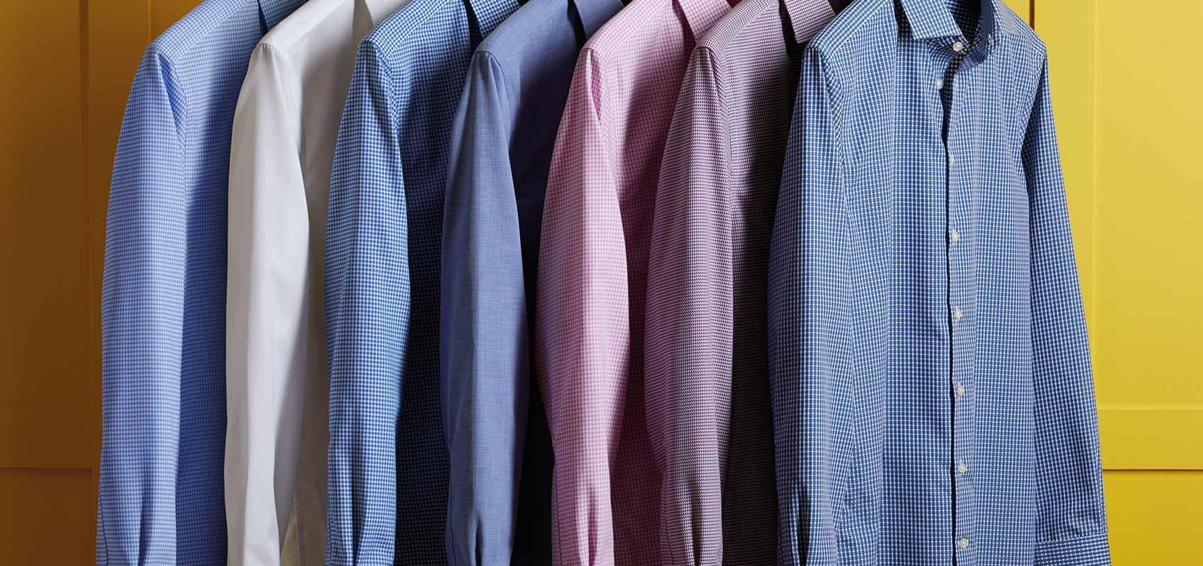 Non-iron usiness casual shirts