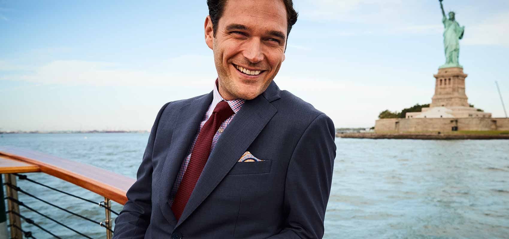 Charles Tyrwhitt sharkskin suits