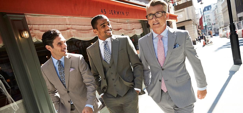 3 men wearing suits