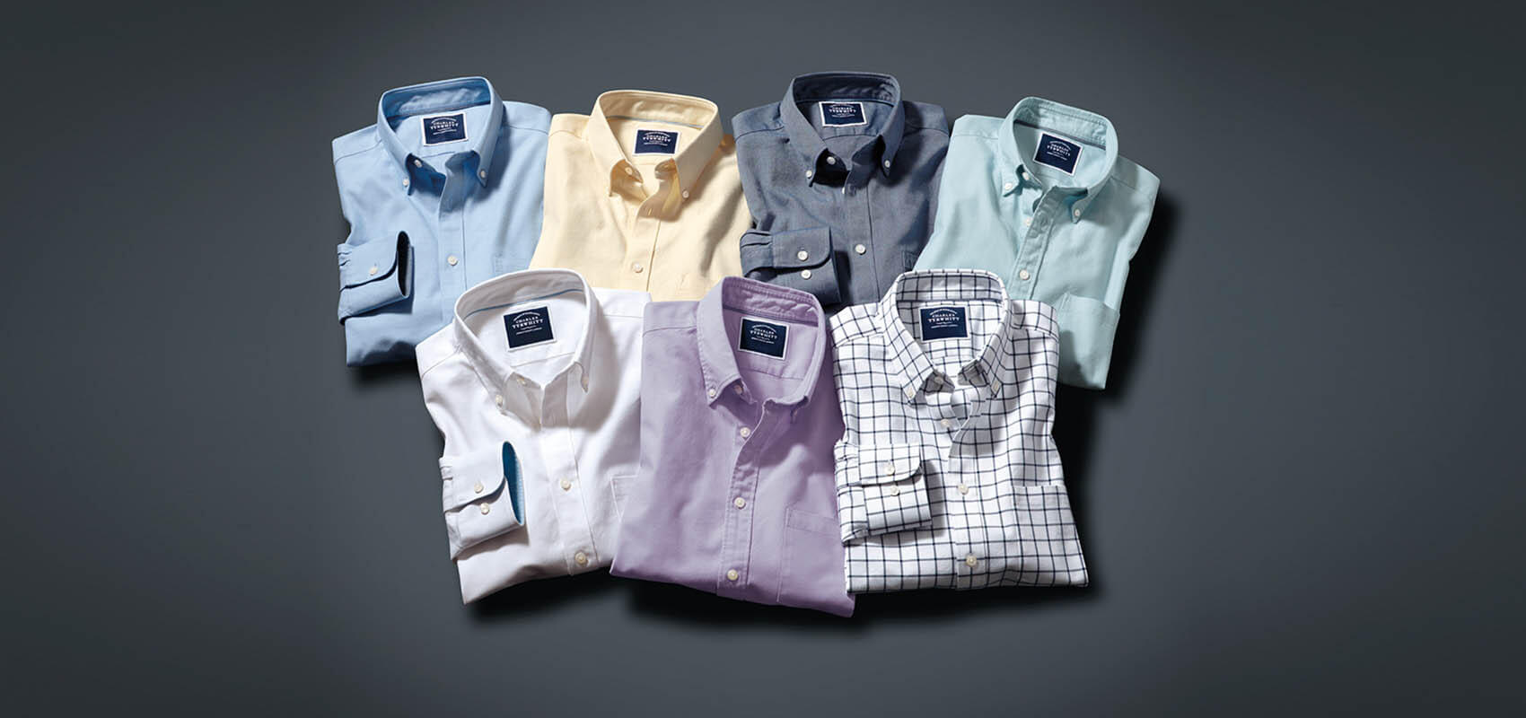 Charles Tyrwhitt Washed Oxford Shirts