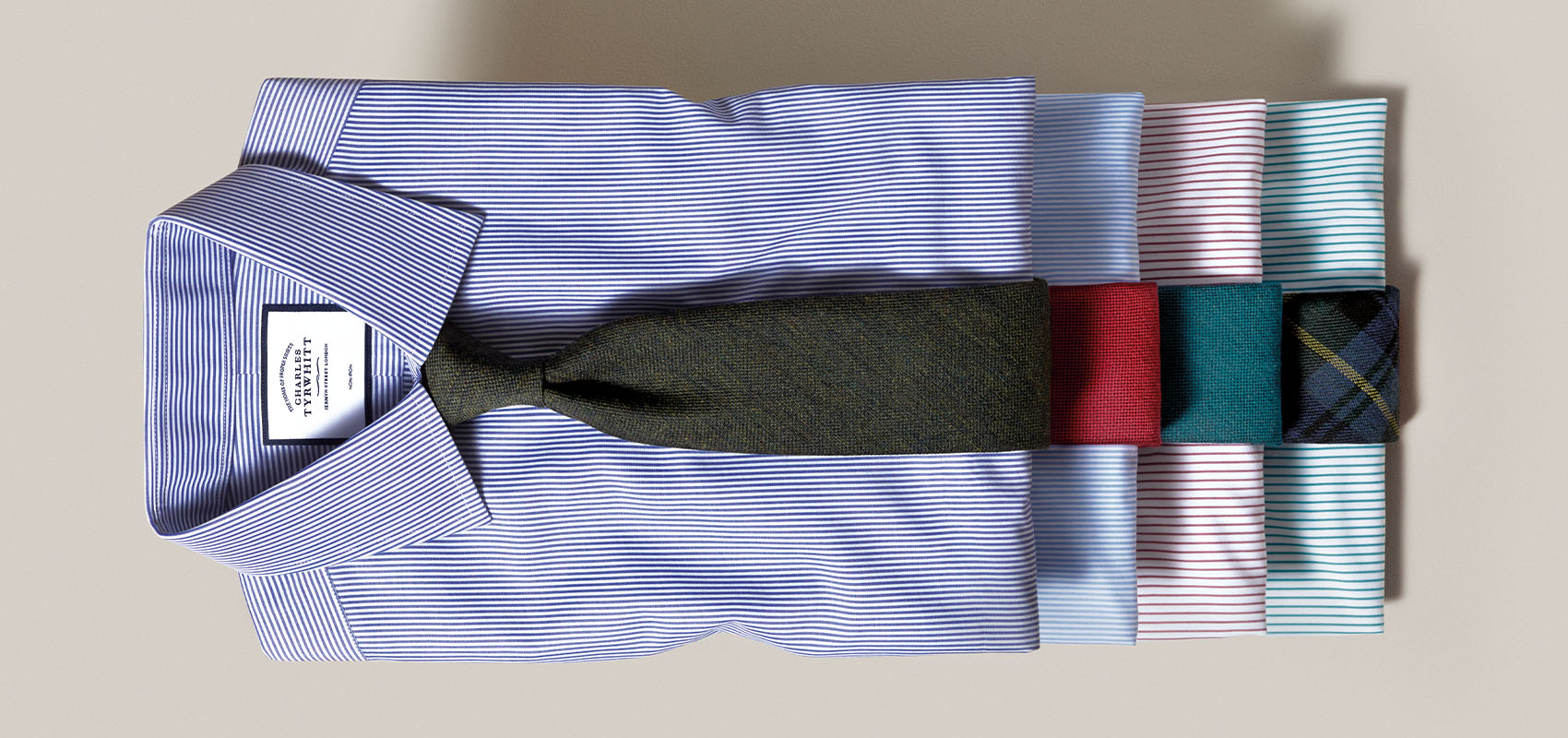Charles Tyrwhitt Striped Shirts