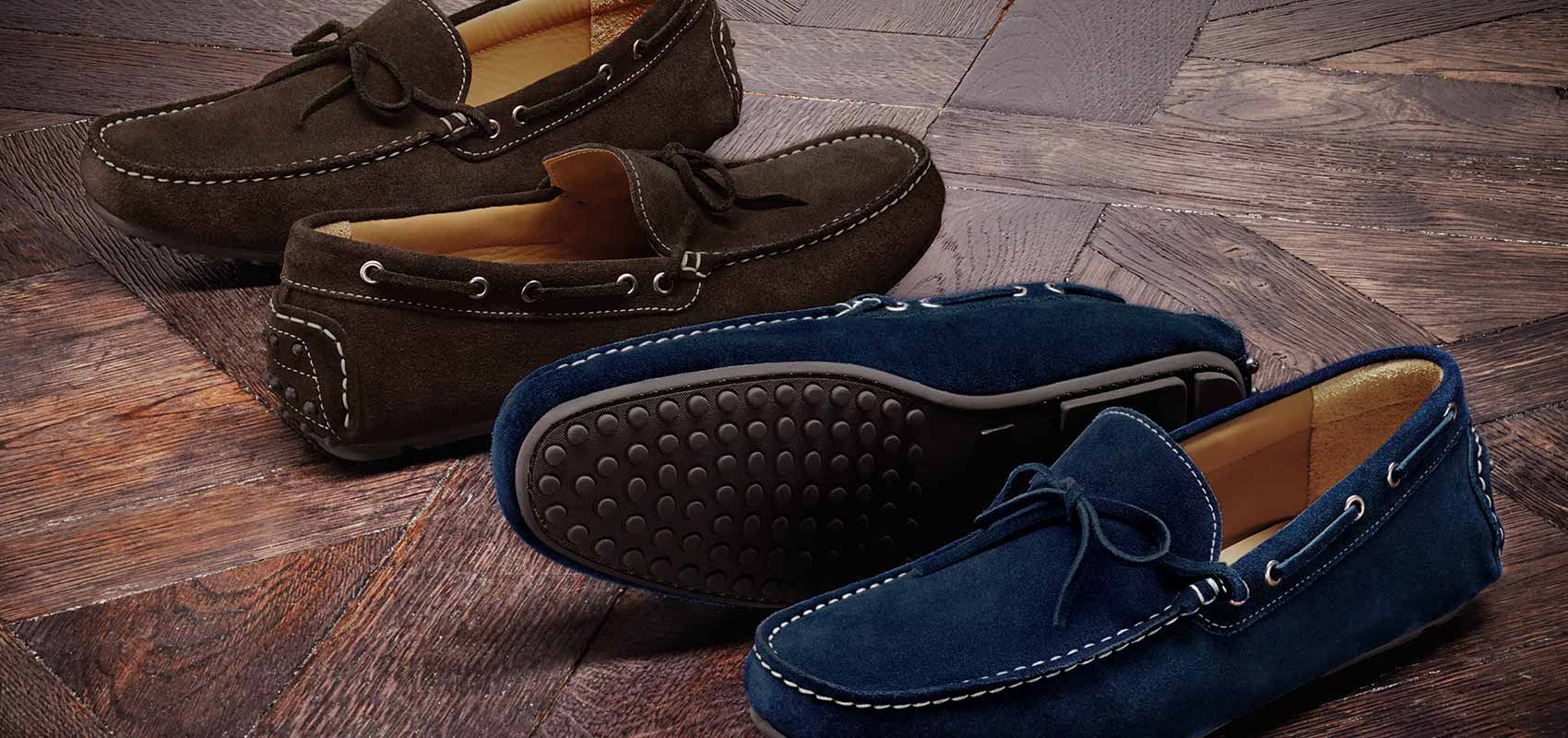 Weekend driving loafers