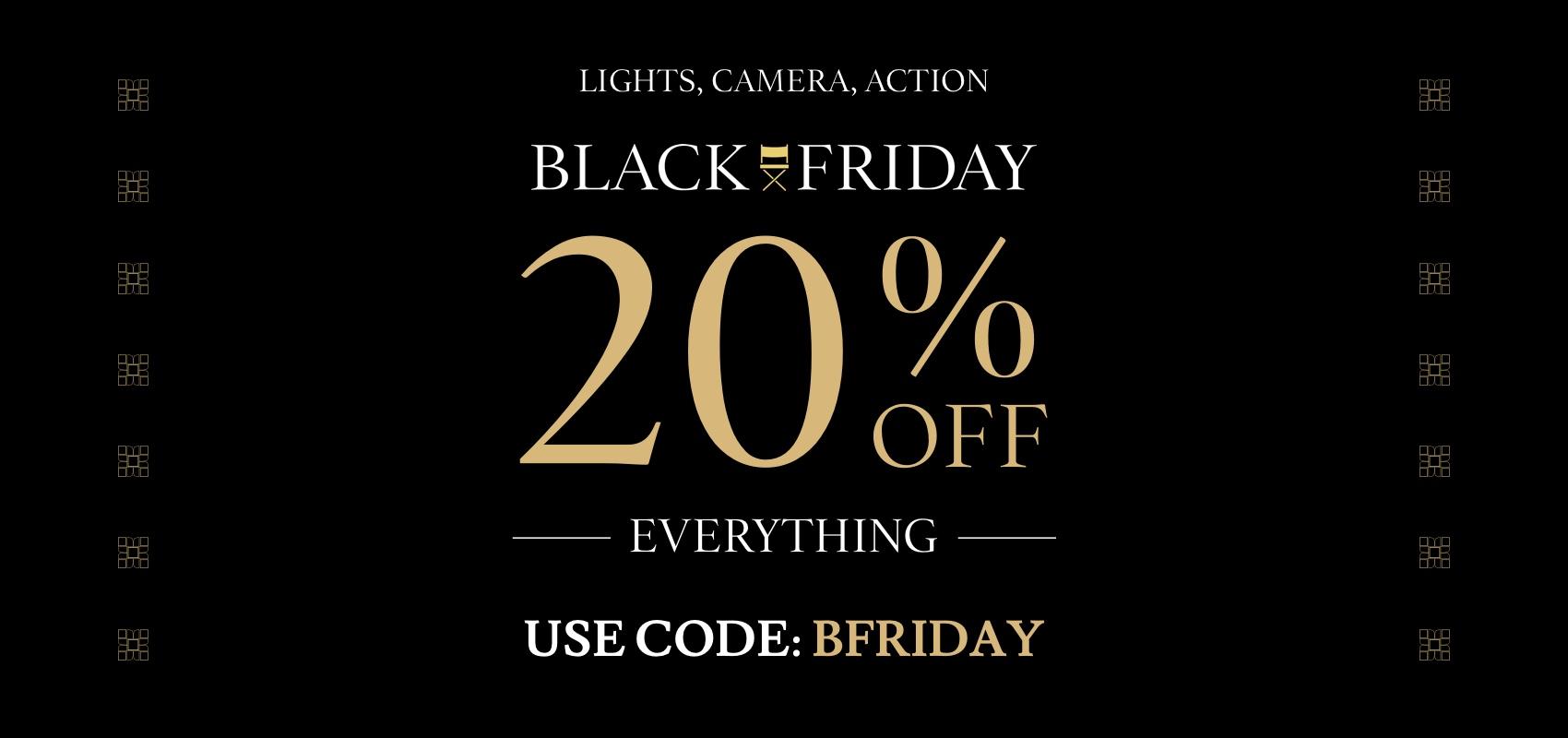 Charles Tyrwhitt Black Friday 20% off with code BFRIDAY