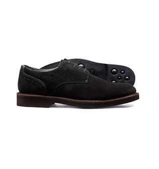 black lightweight shoes