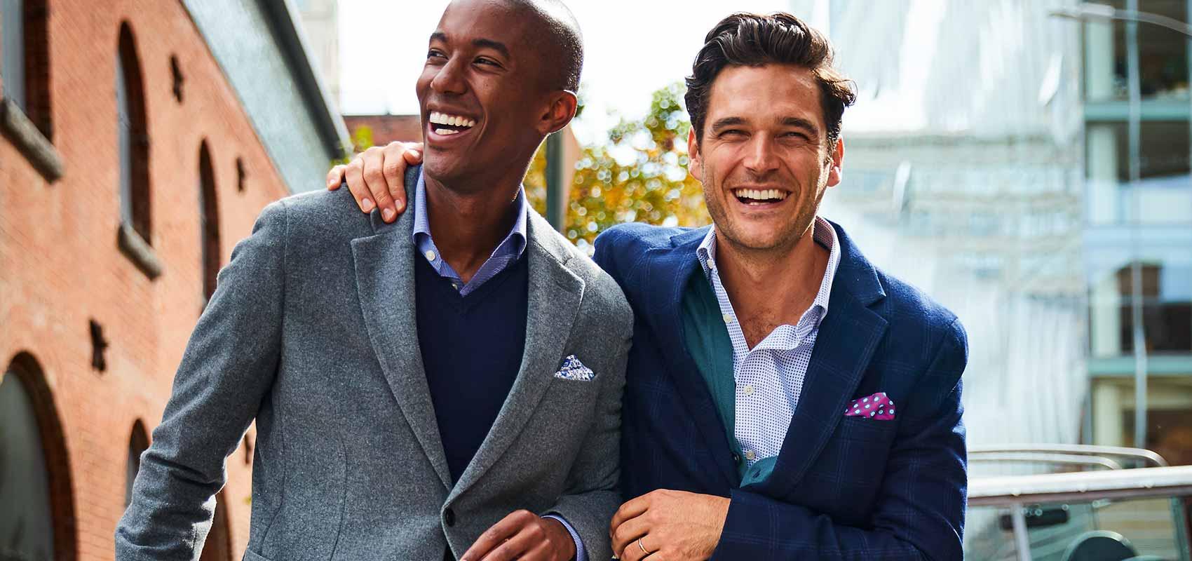 Charles Tyrwhitt men's business casual style