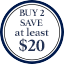 Tie Multibuy Roundel - Buy 2 save at least $20