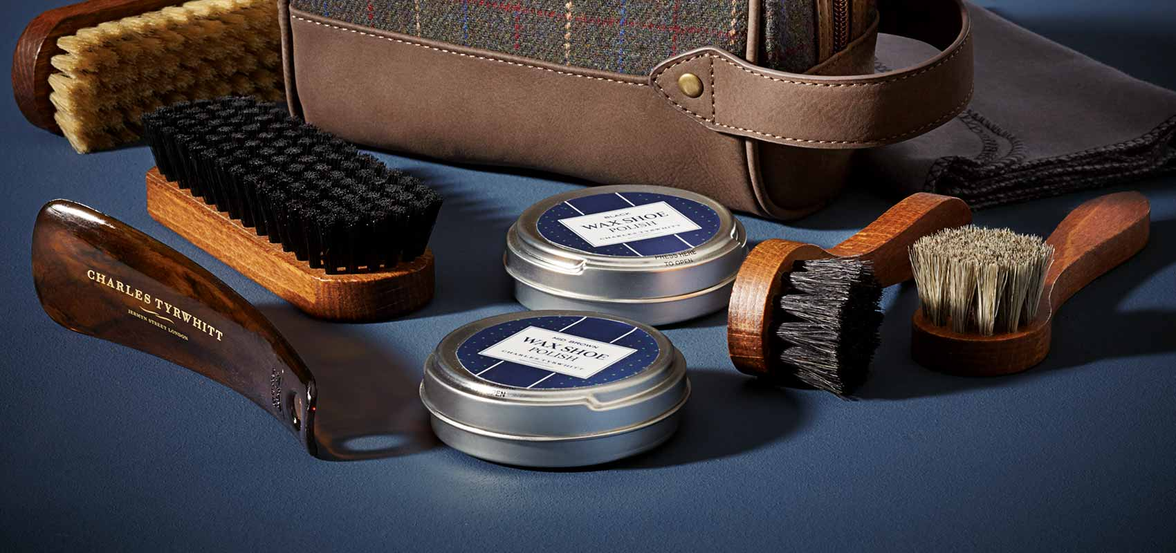 Charles Tyrwhitt shoe care