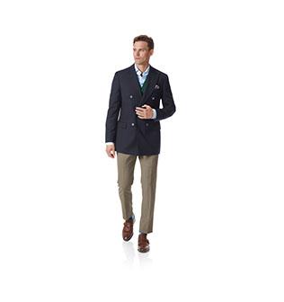 A grey zip neck jumper