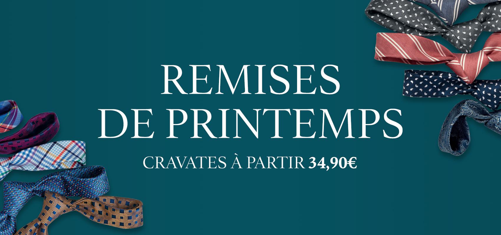 Charles Tyrwhitt cravates - rèductions, cravates à partir 34,90€