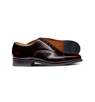 A brown shoe