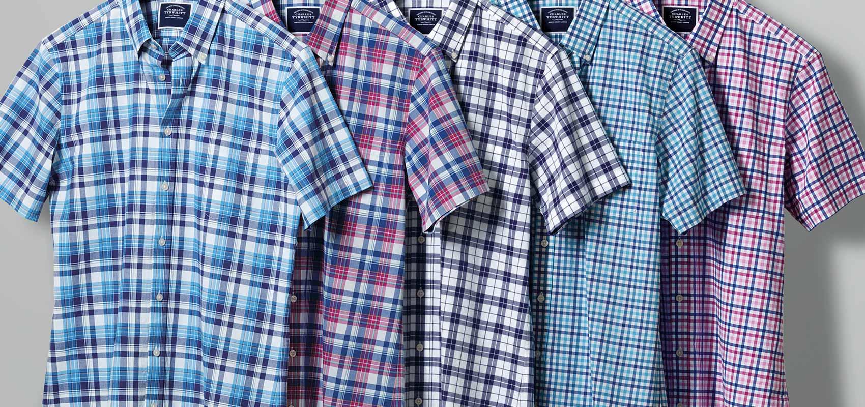 Charles Tyrwhitt short-sleeved shirts