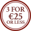 Socks Multibuy Roundel - 3 for €25 or less