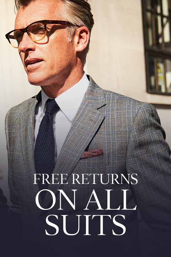Charles Tyrwhitt free suit returns