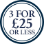 3for£25-BoxerRoundel