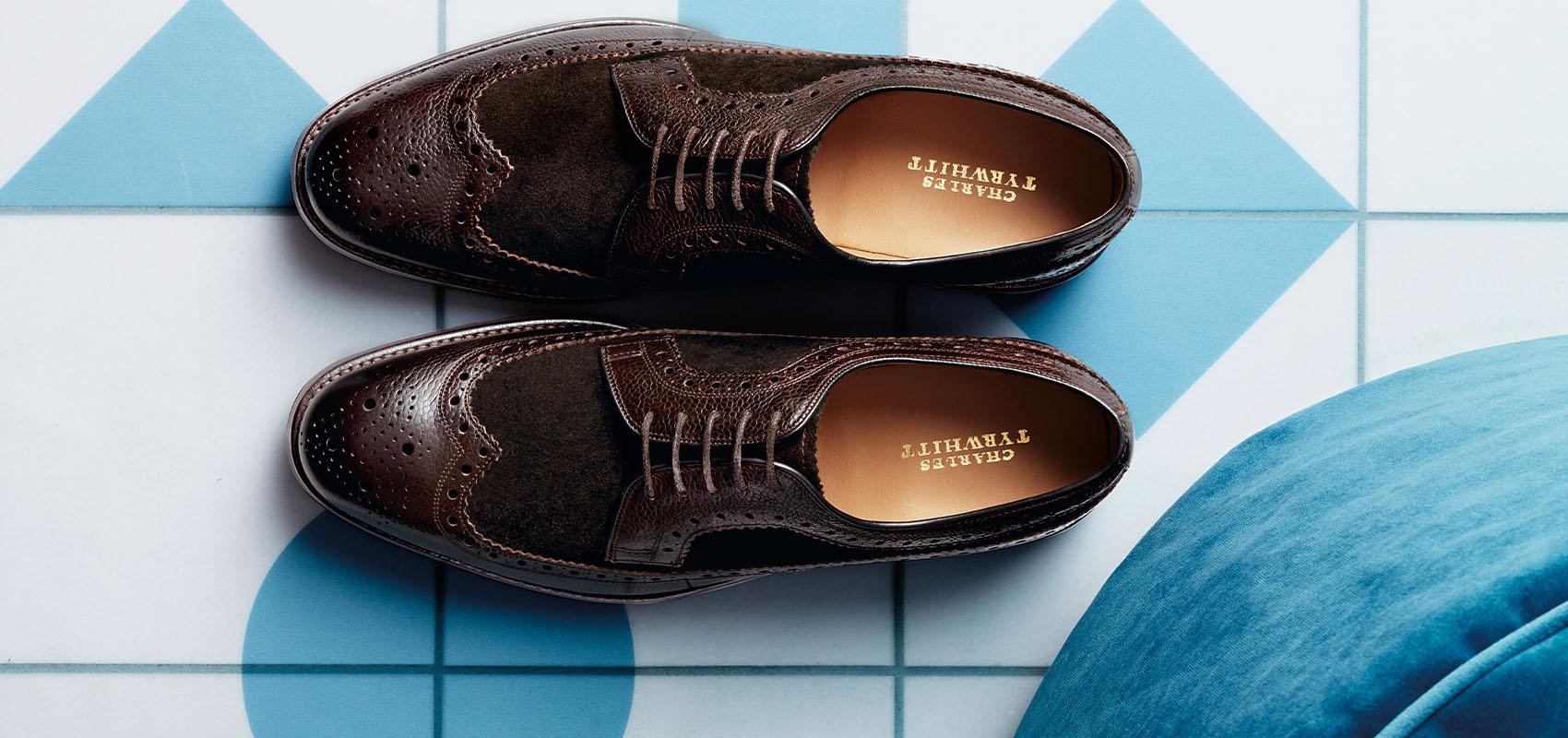Charles Tyrwhitt Chaussures Pied Large