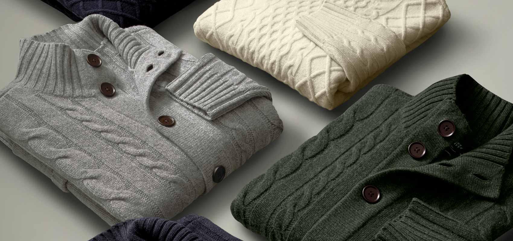 Charles Tyrwhitt chunky knitwear