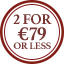 Belt Multibuy Roundel - 2 for €79 or less