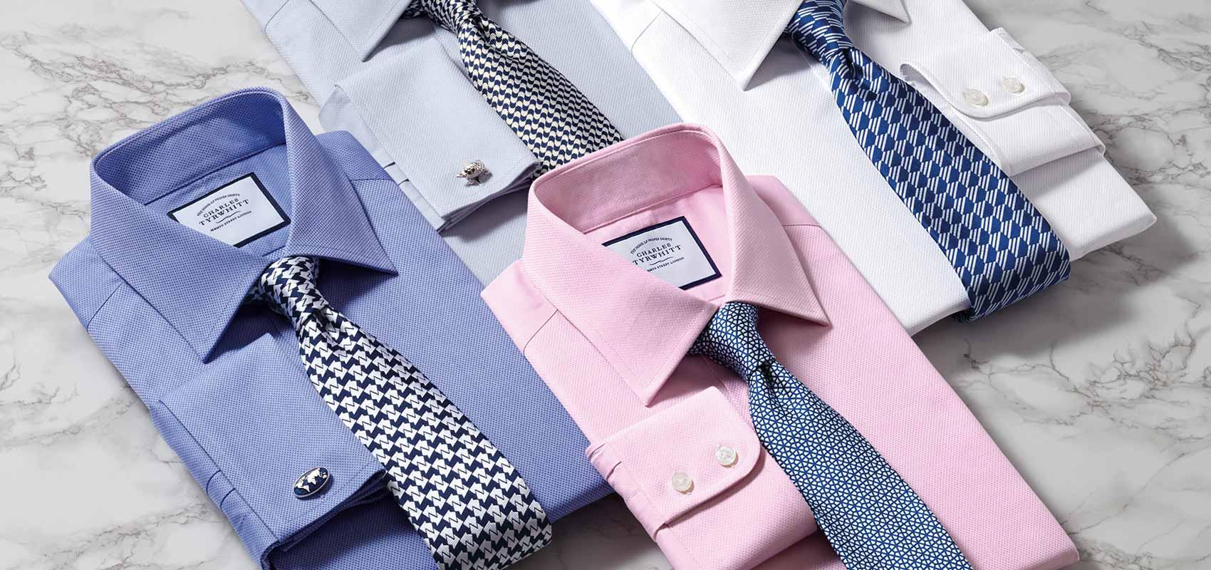 Charles Tyrwhitt luxury shirts