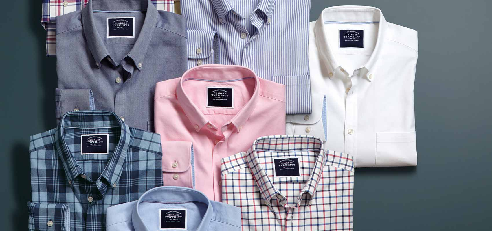 Washed Oxford casual shirts