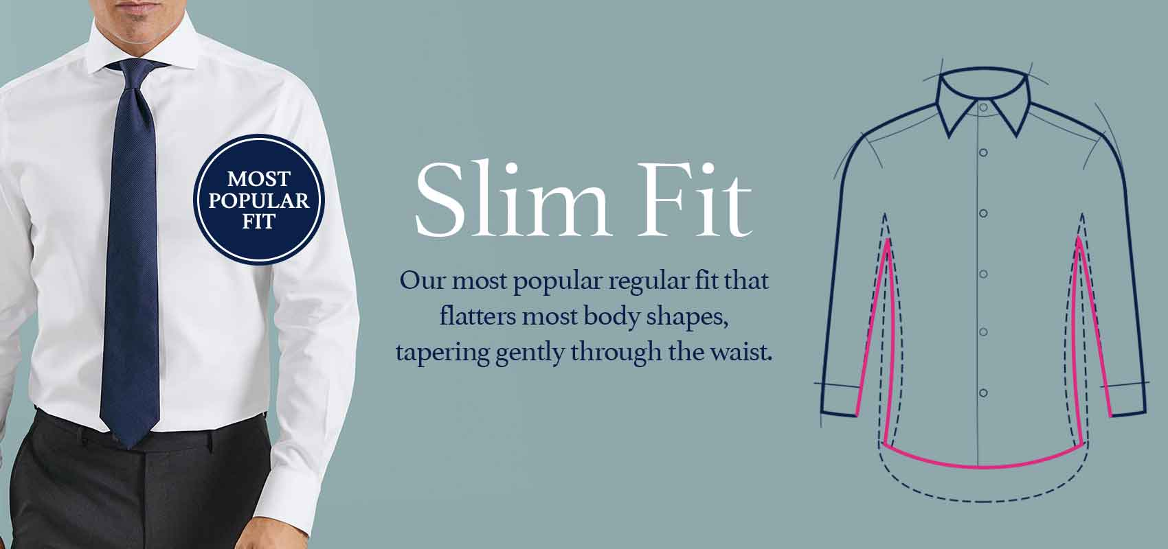 Charles Tyrwhitt slim fit shirts