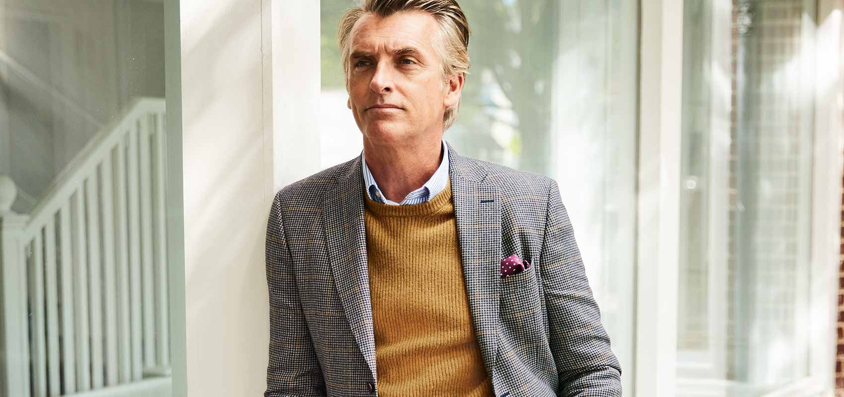 Charles Tyrwhitt tweed jackets