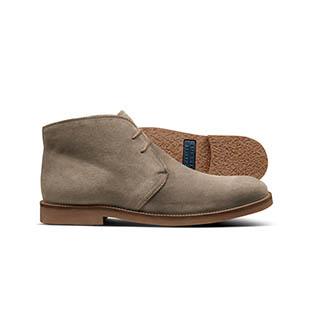 A suede desert boot