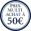 Label multi-buy - Prix multi-achat à 50€