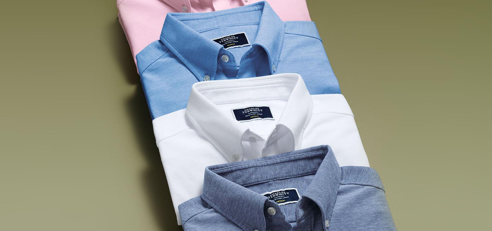 Oxford jersey shirts