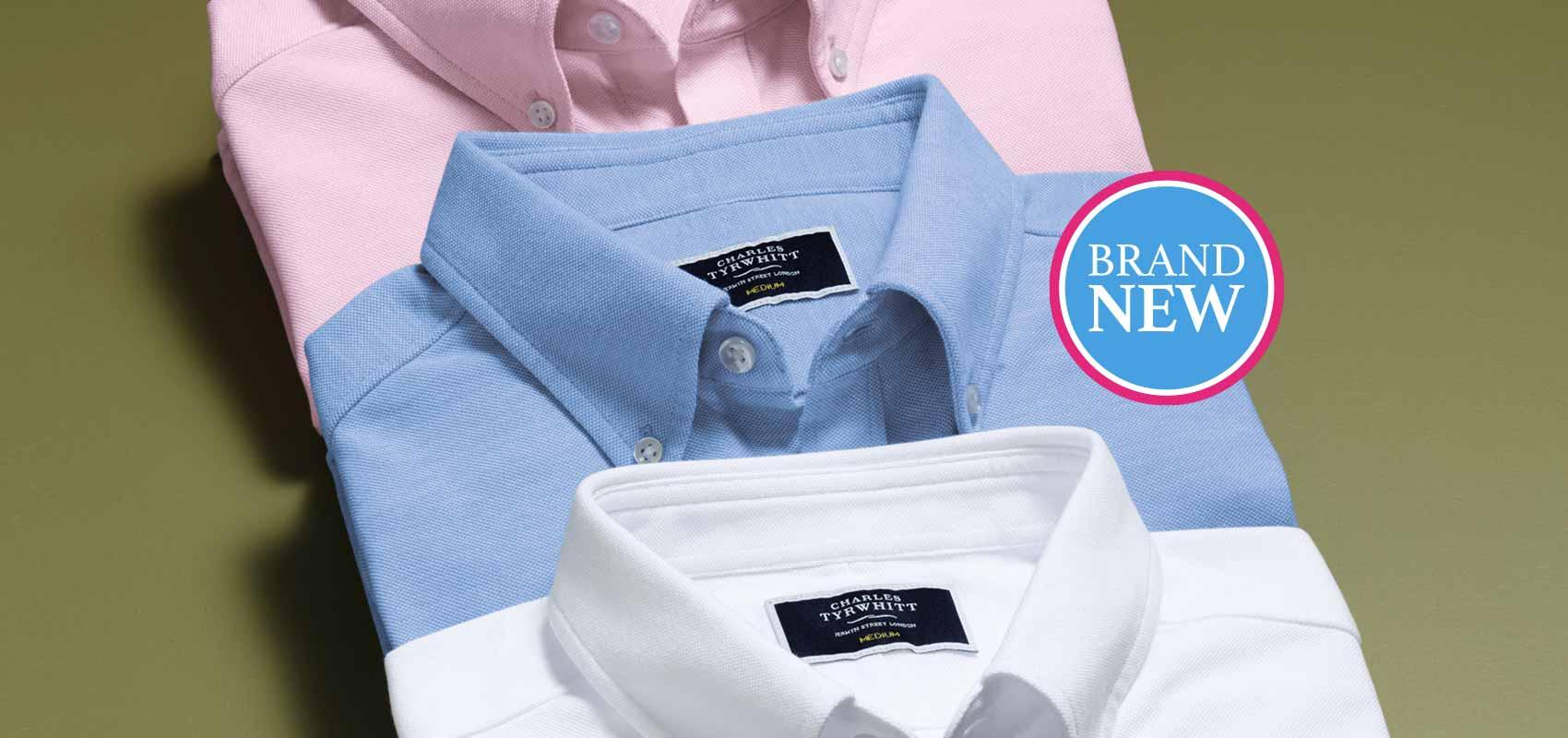 Charles Tyrwhitt jersey shirts