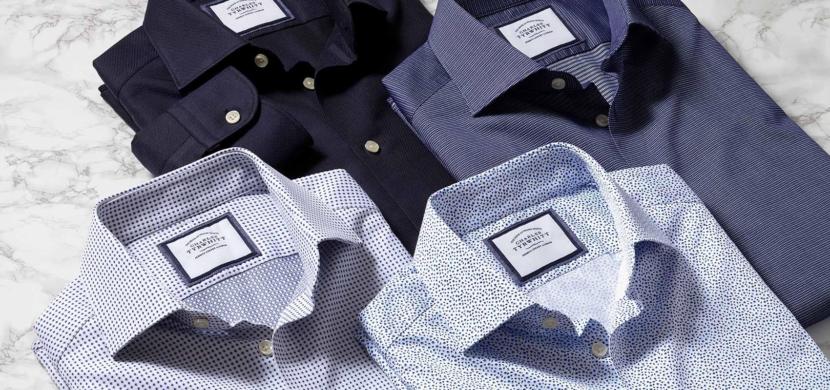 Charles Tyrwhitt printed shirts