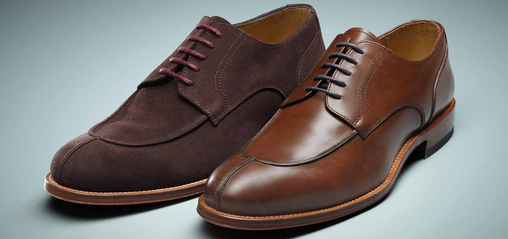 Charles Tyrwhitt brown shoes